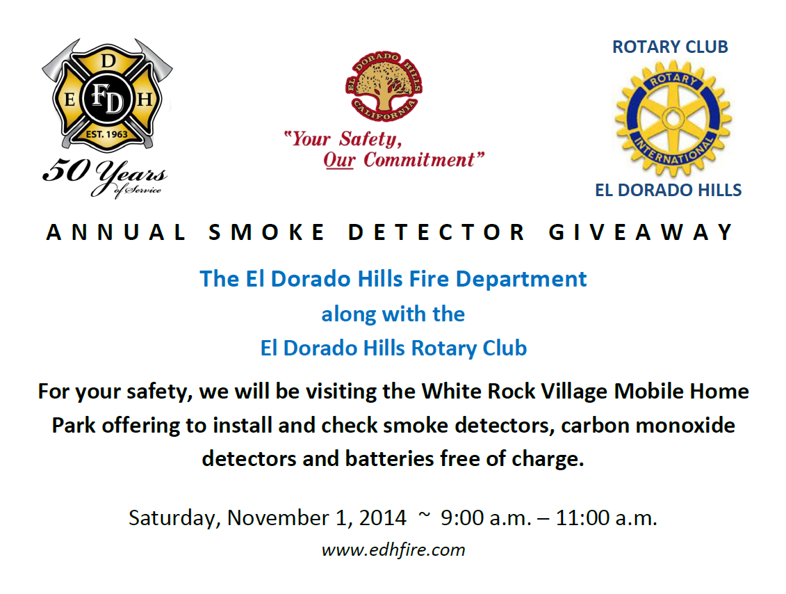 Annual Smoke Detector Giveaway